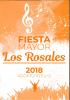Programa Festa Major Els Rosers, 10, 11 i 12 d'agost de 2018