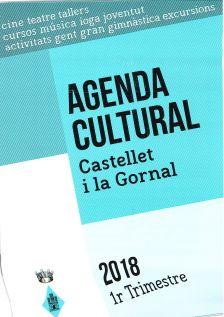 Cartell Agenda Cultural 1r Trimestre 2018