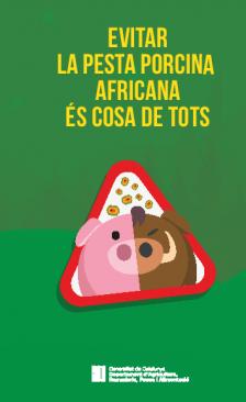 Evitar la pesta porcina africana és cosa de tots